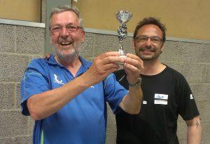 Winnaar troosttoernooi: Peter